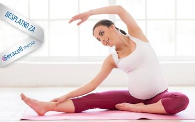 Besplatna joga za sve Seracell trudnice