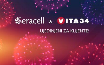 SERACELL i VITA 34 Ujedinjeni za klijente!