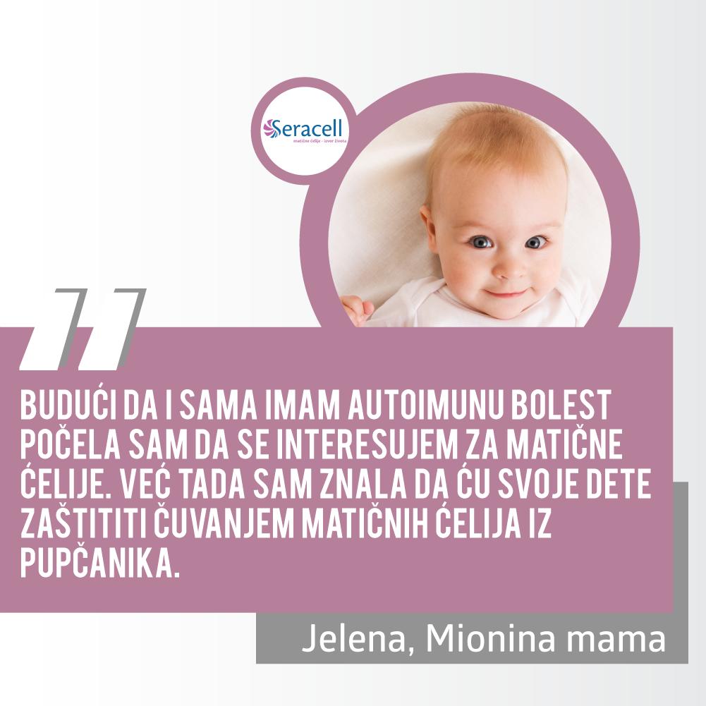 Jelena - izjava